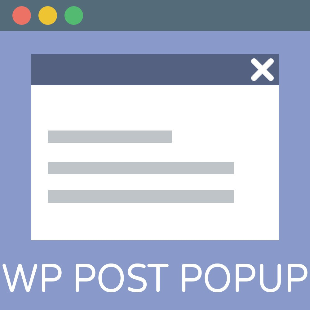 WP Post Popup Icon