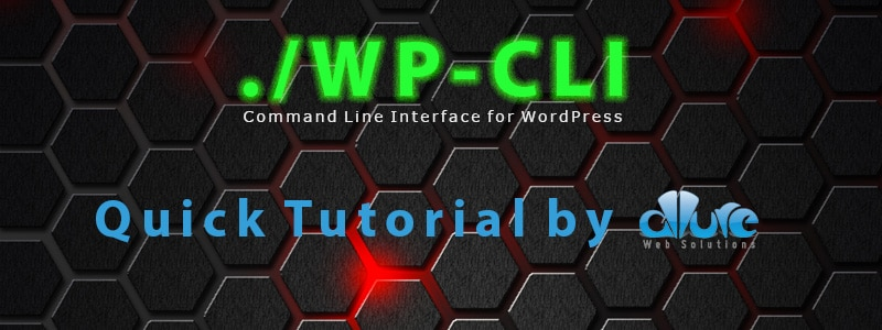 WP-CLI Quick Tutorial