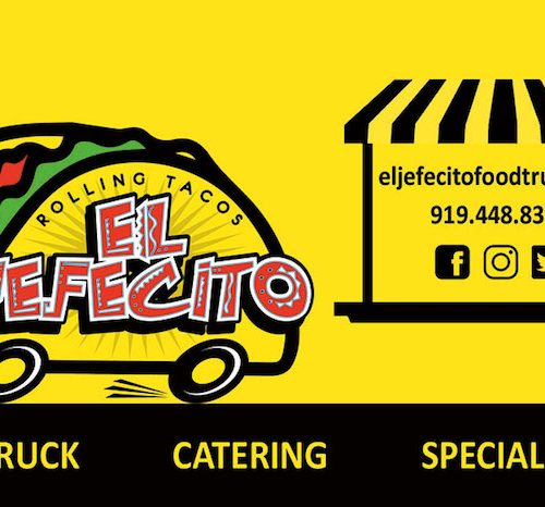 El Jefecito Business Card Front
