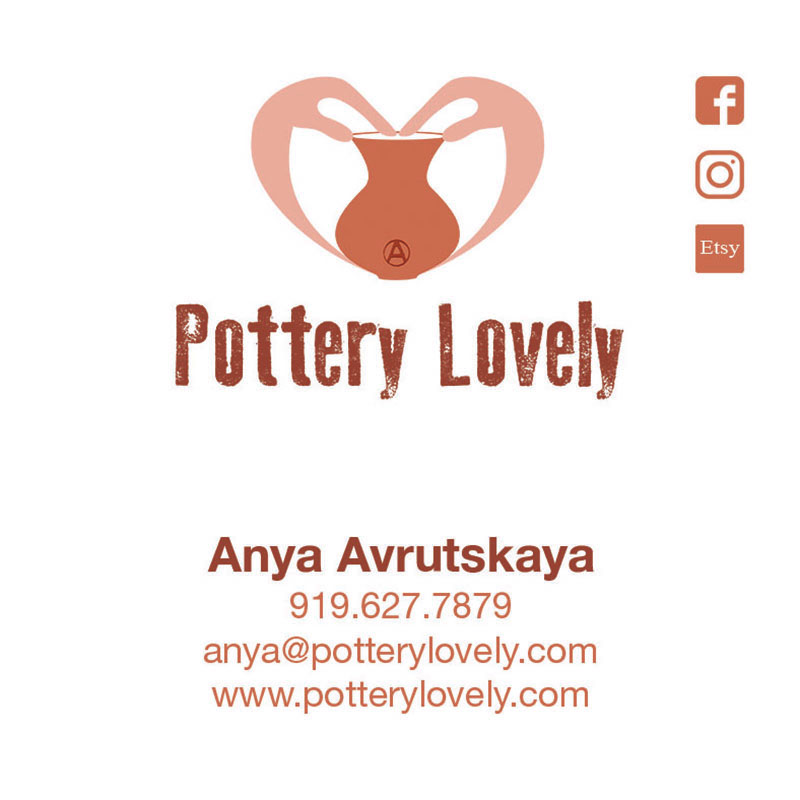 Pottery Lovely Business Card
