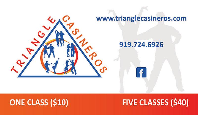 Triangle Casineros Business Card